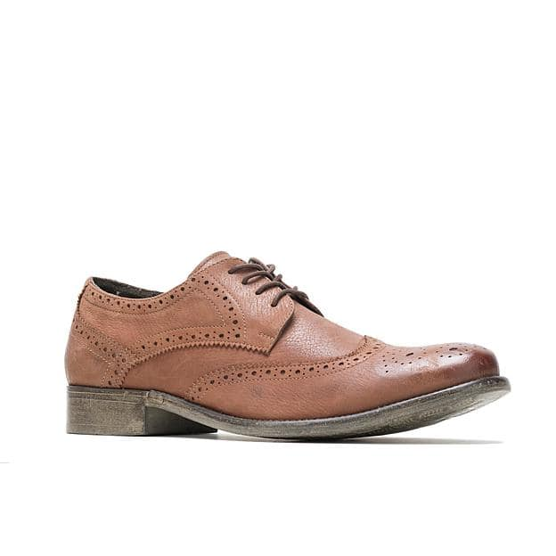 Sears: Hush Puppies Men's Zack Leather Oxford Shoe $17 w/store pickup