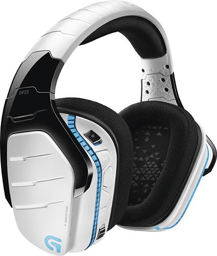 Logitech G933 Artemis Spectrum Wireless Gaming Headset $99