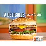 "Receive a Charburger from the Habit after $2 donation to ""No Kid Hungry"" YMMV"