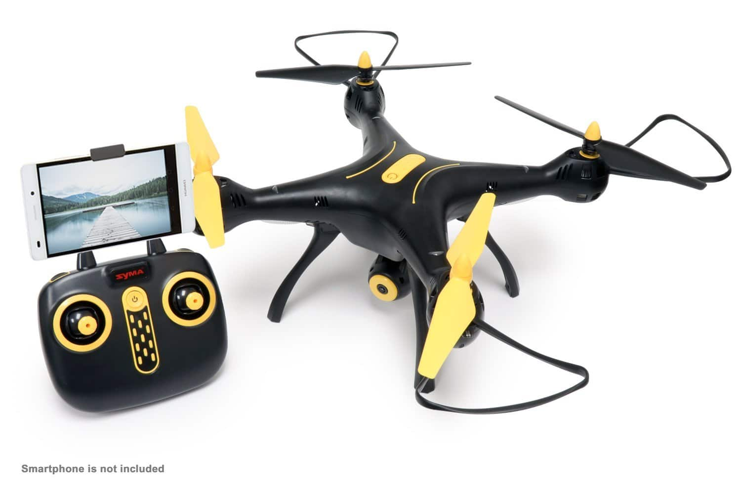 Tenergy Syma X8SW Wi-Fi FPV Quadcopter Drone 720P HD Camera Altitude Hold  $104 after 20% off coupon