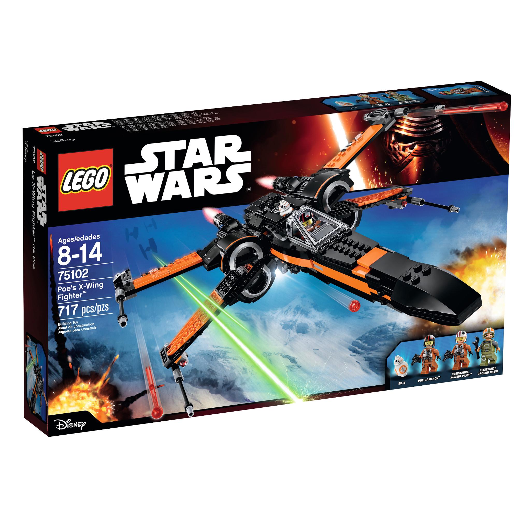 LEGO Poe's X-Wing 75102 $67.99 @ Amazon, Target & Walmart