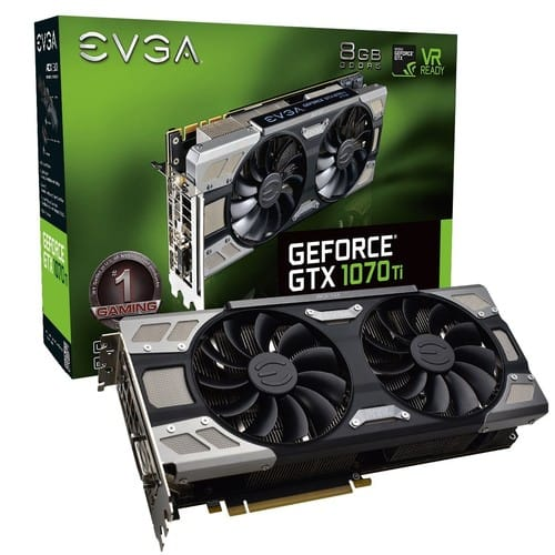 EVGA GeForce GTX 1070 Ti FTW ULTRA SILENT GAMING, 8GB GDDR5, ACX 3.0 and RGB LED Graphics Card 08G-P4-6678-KR $510 + Free Shipping