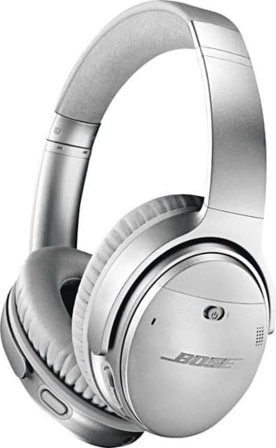 Bose QuietComfort 35 Series II (QC35 ii) Wireless Noise Cancelling Headphones (Silver) $264.99