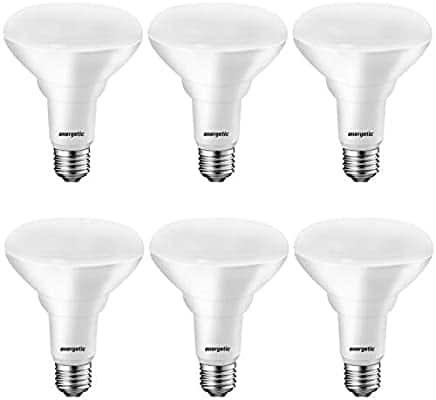 6 packs LED Flood Light Bulbs BR30, 65W Equivalent, CRI 80, Dimmable $8.49