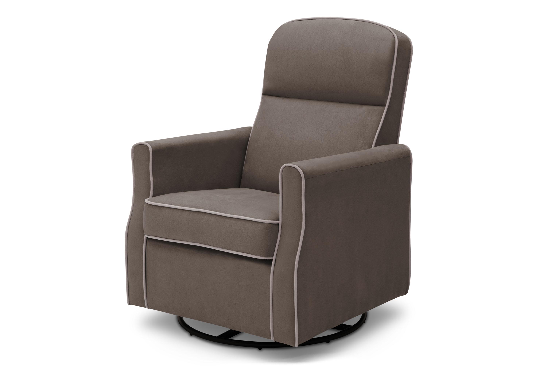Delta Children Clair SLIM Nursery Glider Swivel Rocker Chair $128