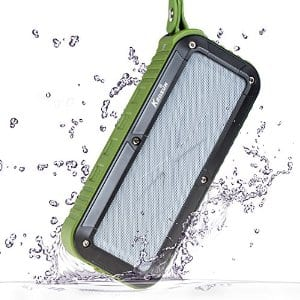 IPX6 Waterproof KEDSUM Portable Bluetooth 4.0 Speaker w/ 10 hours playtime $21.99 at Amazon
