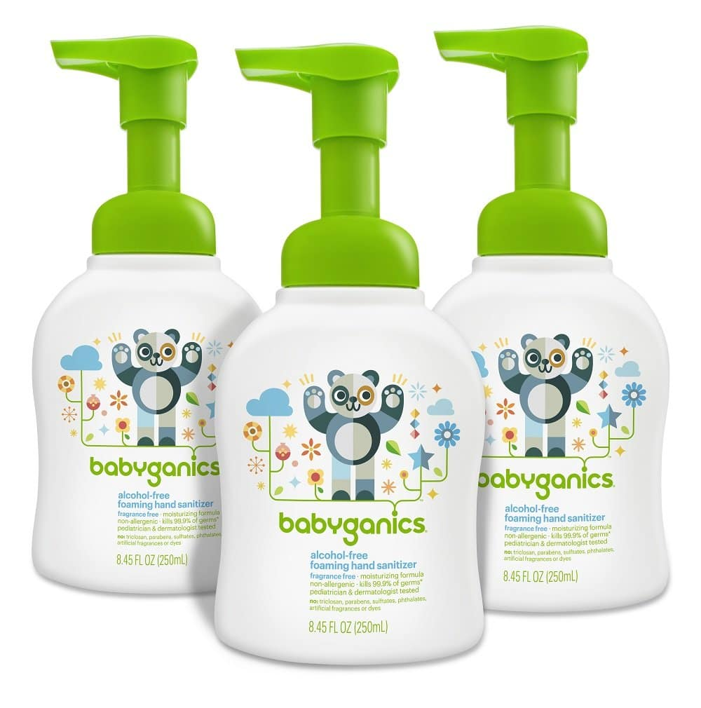 Babyganics Foaming Dish and Bottle Soap, Fragrance Free, 16oz Pump Bottle (Pack of 3) $7.75 S&S