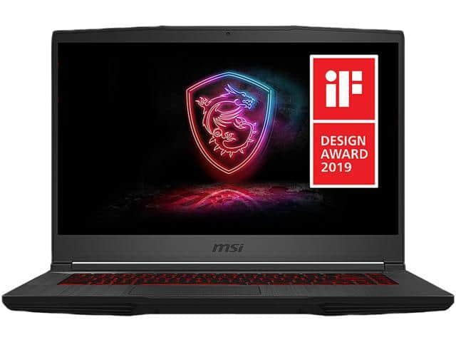 MSI Gaming Laptop - 15.6in 120 Hz - i5-9300H - RTX 2060 - 8 GB DDR4 - 512 GB SSD - PLUS FREE AVENGERS AND BACKPACK $899