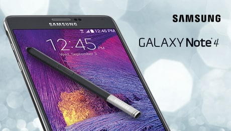 Get Up to $190 back from Samsung (OR $200 GC from BB) when you purchase the Galaxy Note 4 or Galaxy S5