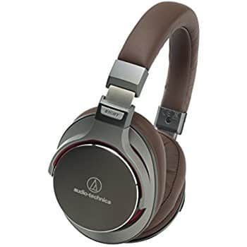 Audio-Technica ATH-MSR7BK SonicPro Over-Ear High-Resolution Audio Headphones, Black $149