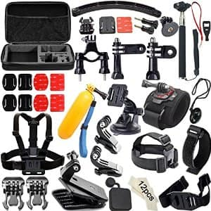 50-in-1 Accessories Kit for GoPro Hero4/3/2/1 $13.99 @ Amazon