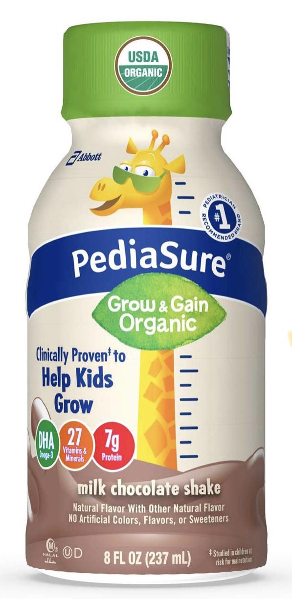Amazon has 24 ct  Pediasure Organic Kids Shakes for $20.79 with 45% off coupon