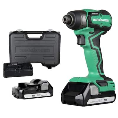 Metabo HPT (was Hitachi Power Tools) 18-Volt 1/4-in Variable Speed Brushless Cordless (2-Batteries) in the Impact Drivers department at Lowes.com $79