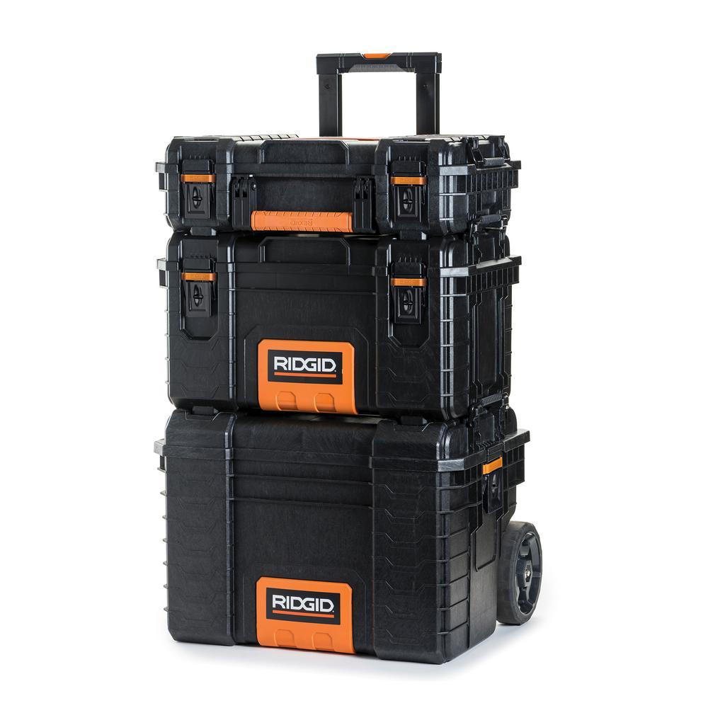 RIDGID PRO Tool Storage System (3-Piece)-RIDGIDPRO3PCTSS - The Home Depot $99 - YMMV