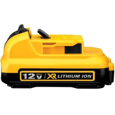 DEWALT 12-Volt Max 2 Amp-Hour Lithium Power Tool Battery Kit in the Power Tool Batteries department at Lowes.com $20.17 YMMV
