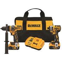 $299, 20V MAX* Brushless Cordless 2-Tool Kit Including Hammer Drill/Driver with FLEXVOLT Advantage™ DCK2100P2