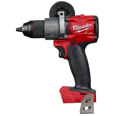 $179, Milwaukee M18 FUEL 18-Volt Lithium-Ion Brushless Cordless 1/2 in. Drill / Driver Kit W/(2) 5.0Ah Batteries, Charger, and Hard Case