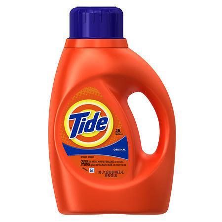 Tide Liquid Detergent Original $2.99