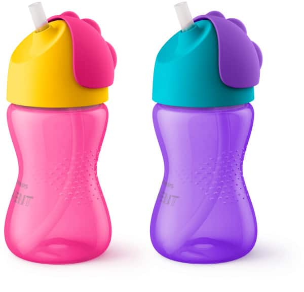 Philips Avent My Bendy Straw Sippy Cup - 2 pack $6.99