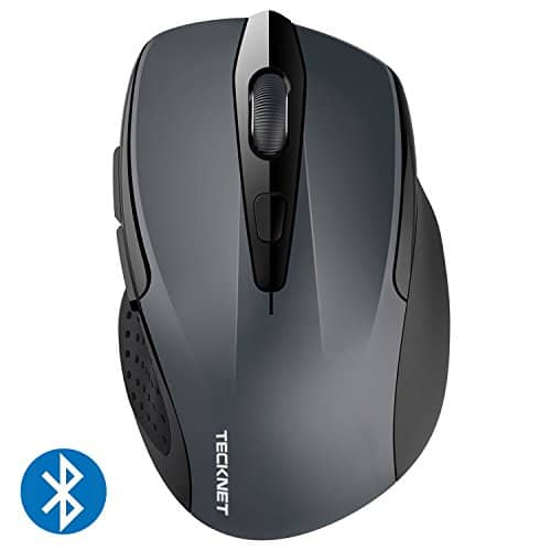 TeckNet 2600DPI Bluetooth Wireless Mouse, 12 Months Battery Life with Battery Indicator, 2600/2000/1600/1200/800DPI $7.49
