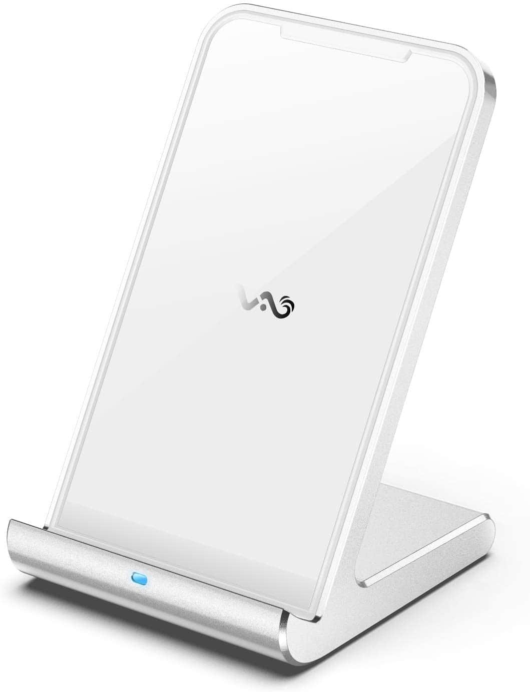 USB C Qi Certified Wireless Charging Stand for iPhone and Android $13 AC & Free Shipping