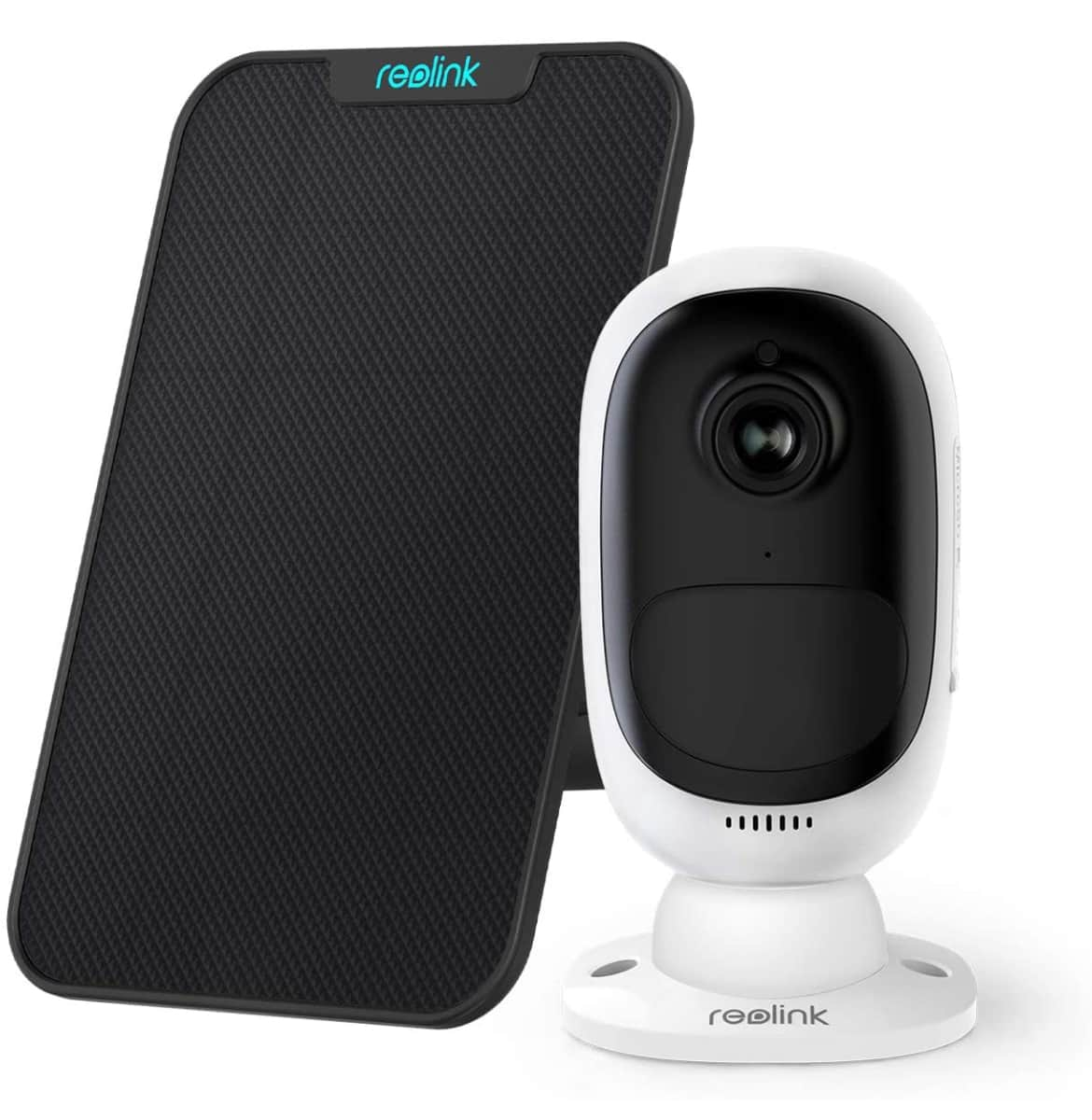 Reolink Argus 2 1080p Starlight Night Vision Wireless Home Security Camera Kit with Solar Panel $91.99