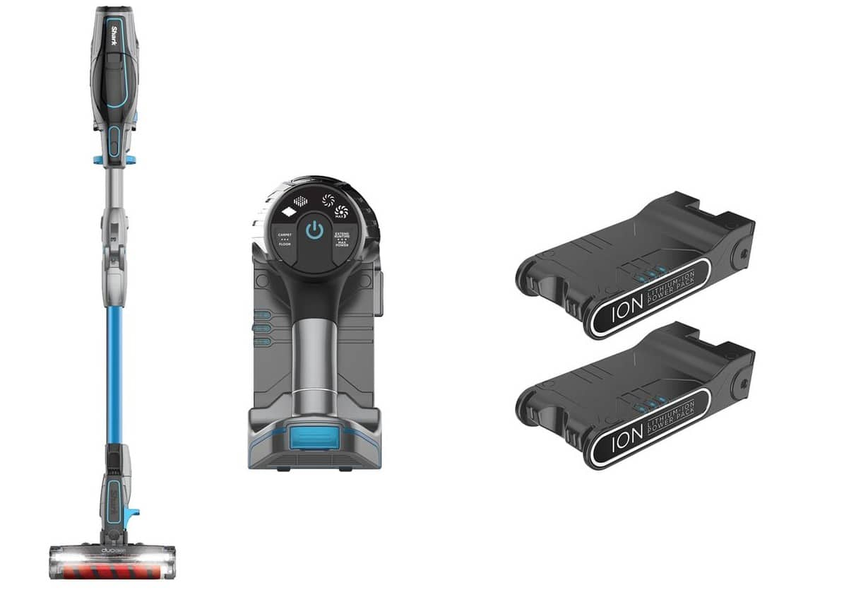 Shark IONFlex 2X DuoClean Ultra Light Cordless Vacuum (Certified Refurbished) $150 + Free Shipping