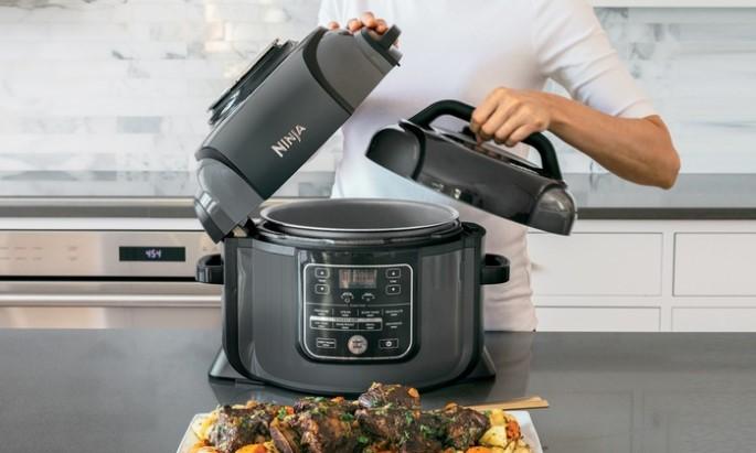 Ninja Foodi Pressure Cooker, Steamer,  Air Fryer Combo Set OP302 (Certified Refurbished) $169.99 + Free Shipping