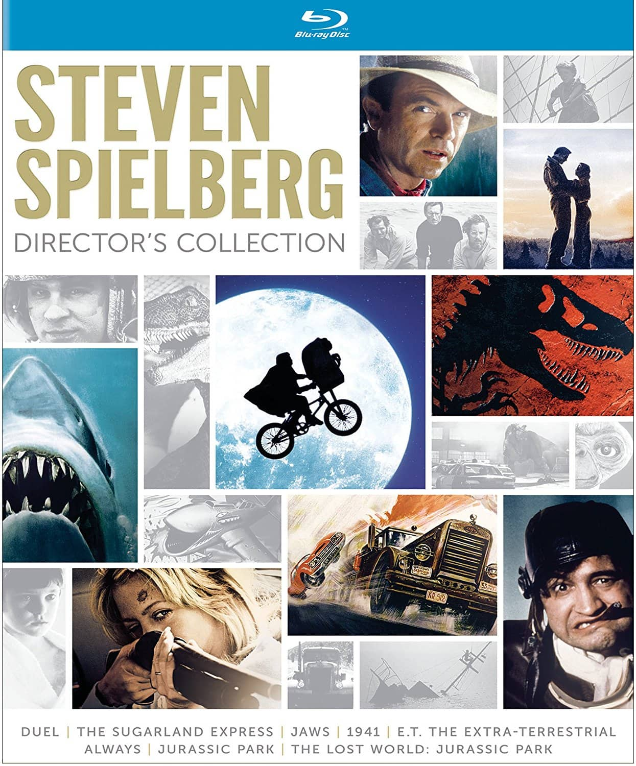 Steven Spielberg Director's Collection Blu-Ray $28 @ amazon
