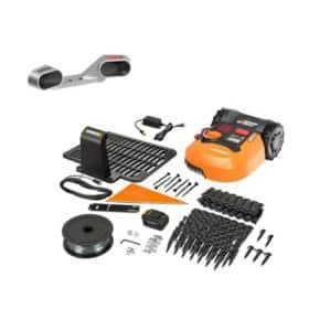 WORX Landroid M – ¼ acre Cordless Robotic Lawnmower + Anti Collision System Accessory - Model # WO7080 $848