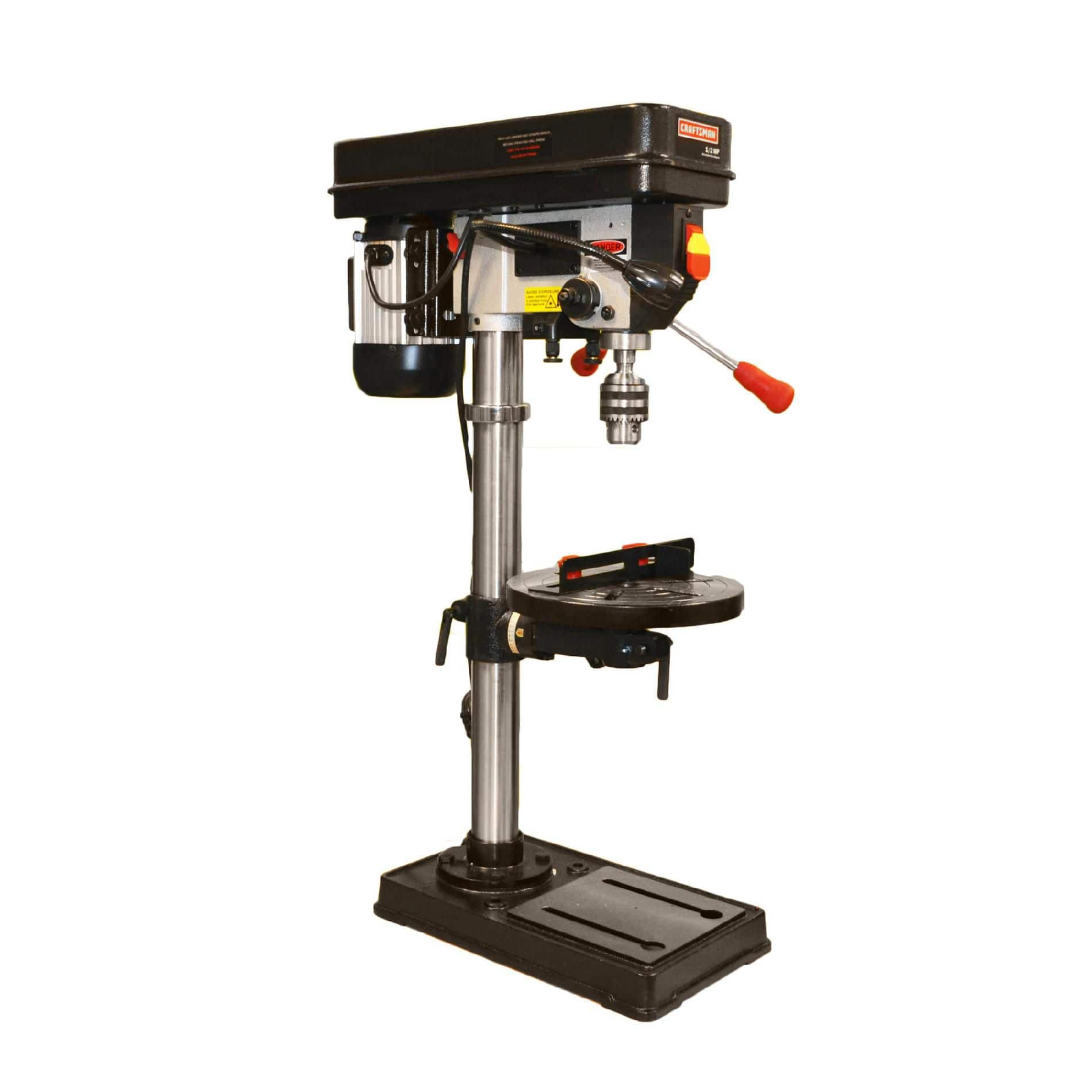 """Craftsman 12"""" Drill Press with Guiding Laser and LED Light $179.94 and free shipping"""