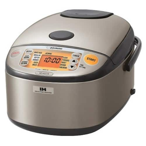 Zojirushi NP-HCC10 Induction Heating Rice Maker 5.5 Cup $175 at Target.com