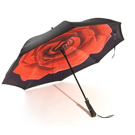 BetterBrella Automatic Open Reverse Umbrella with Lighted Handle  $19.95 + $5 shipping @hsn