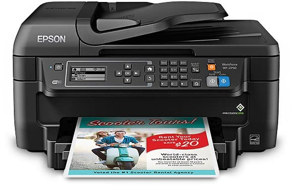 Epson WorkForce WF-2750 All-in-One Printer $59.99 + fs @epson.com