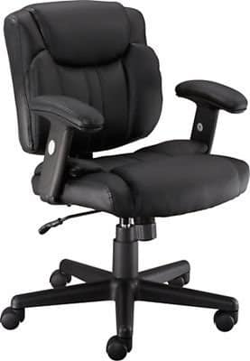 Staples® Telford II™ Luxura® Managers Chair, Black or Brown Color $59.99