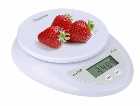 Insten Digital Multifunction Kitchen Food Scale 1g to 5000g $7.89 + ship