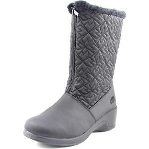 Totes Jonie Round Toe Canvas Snow Boot $16.99 + fs