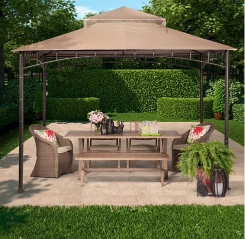 Madaga 10' x 10' Dark Olive Gazebo - Threshold™ $198.89 + fs