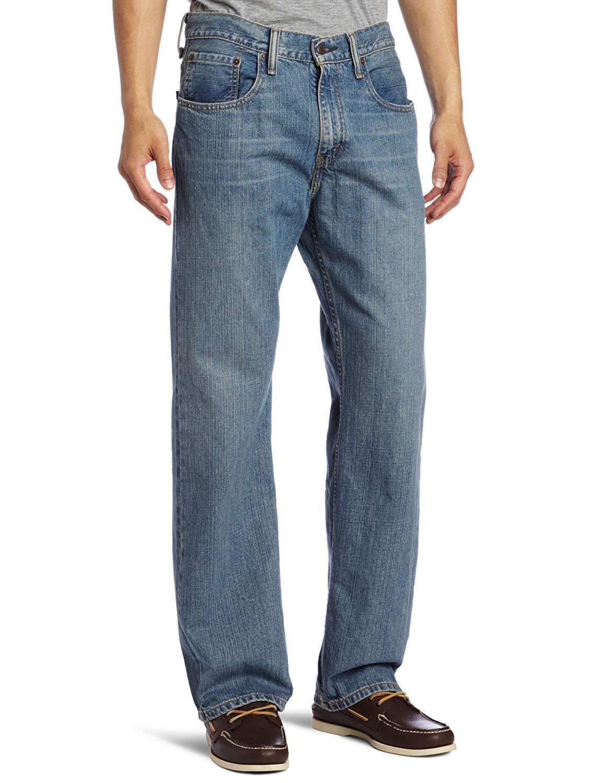 c4b211384ae Levi's Men's 569 Loose Straight-Leg Jeans (Jagger) - Slickdeals.net