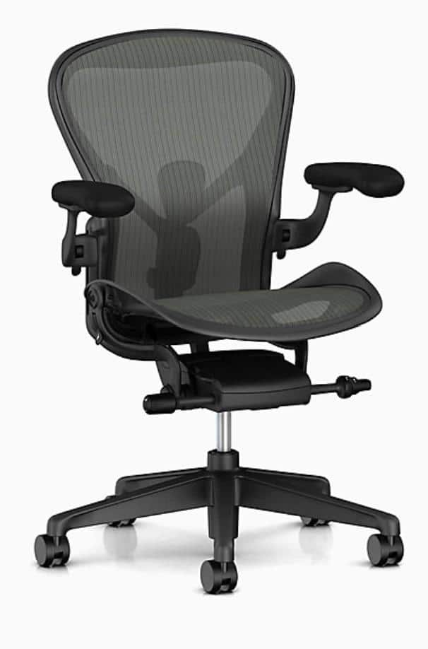 Herman Miller Aeron Chair - Brand new - Size B - 12 yrs. warranty- Authorized Dealer - Graphite - Almost fully loaded for $763.87 + tax + Standard Shipping is Free (YMMV)
