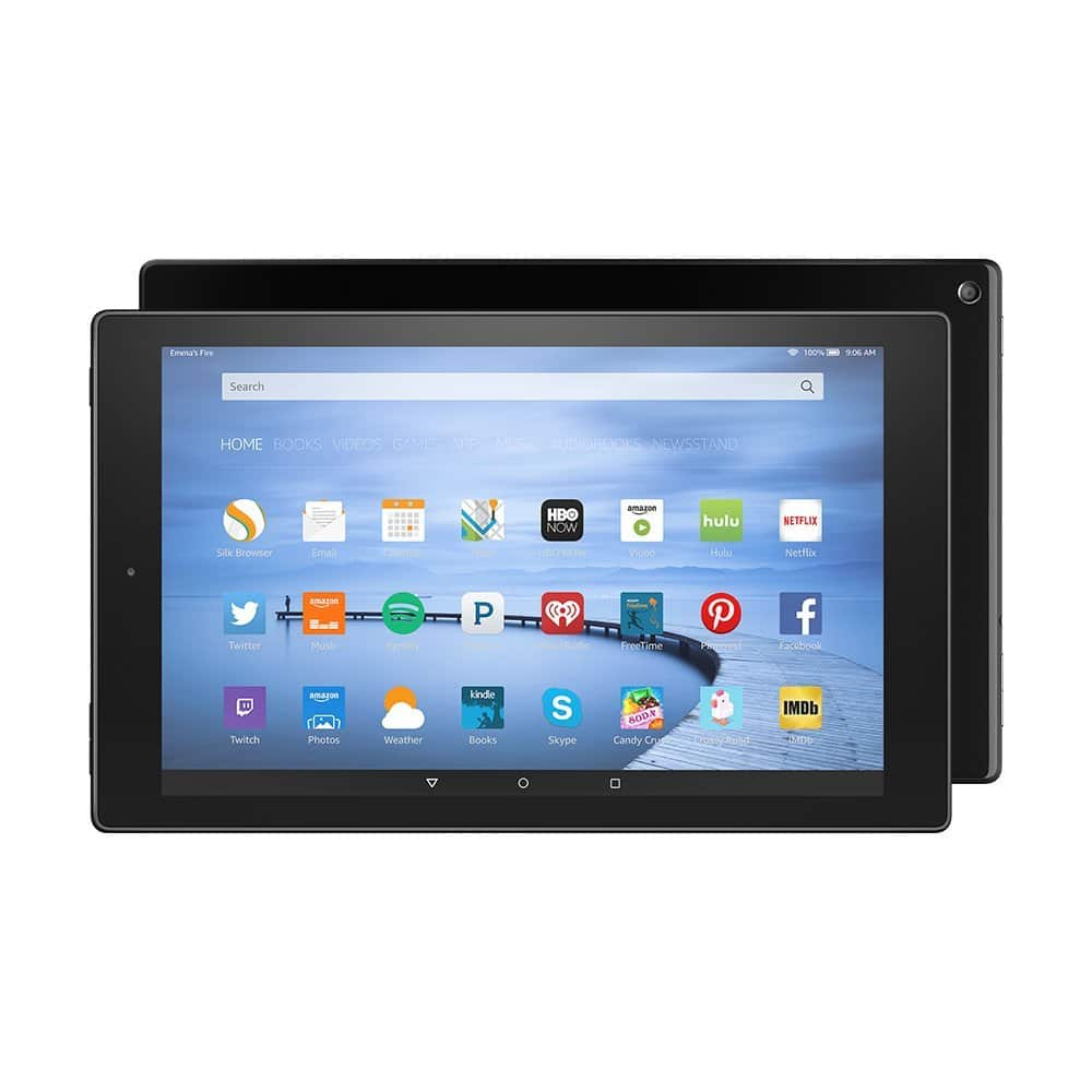 New Fire HD 10 Tablet, 16GB for $180