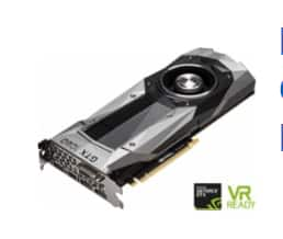 NVIDIA - Founders Edition GeForce GTX 1080 8GB GDDR5X PCI Express 3.0 Graphics Card $589.99