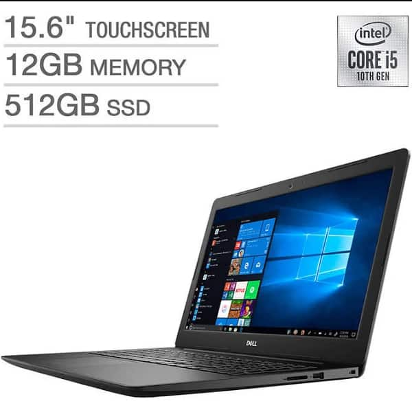 "Dell Inspiron 3000 Series 15.6"" 1080P Touchscreen Laptop $479.99"