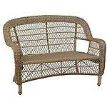 Sale  Savannah Driftwood Wicker Settee $143.99 + fs @kirklands.com