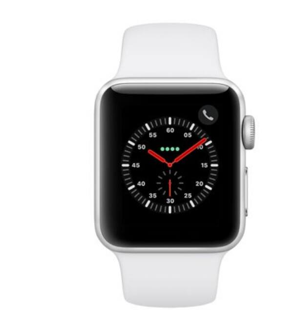 Apple Watch Series 3 - GPS+Cellular - 38mm Aluminum Case - $300