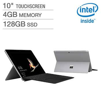 Costco Members: Microsoft Surface Go Bundle - Intel Pentium - 1800 x 1200 Display - Windows 10 in S Mode - Surface Type Cover $420