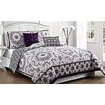 Reversible Quilt Set (5-Piece) $44.99 + ship @groupon.com
