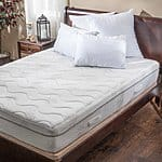 Christopher Knight Home Aloe Gel Memory Foam 11-inch Full-size Smooth Top Mattress $285.59 + shi @overstock.com