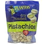 3-Pack 12.75-oz Planters Dry Roasted Pistachio $13.63, 6-Pack 34.5-oz Planters Peanuts, Honey Roasted $27.22, 144-Pack 1-oz Planters Peanuts, Honey Roasted $27.15 + Free Shipping
