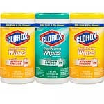225-Count Clorox Disinfecting Wipes Value Pack (Fresh Scent and Citrus Blend) $8.45 + Free Shipping